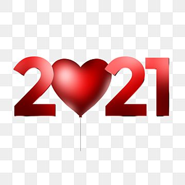 Text 2021 With A Heart Shaped Balloon 2021 2021 Text New Year Png Transparent Clipart Image And Psd File For Free Download Happy New Year Text Text Balloon Valentine Text