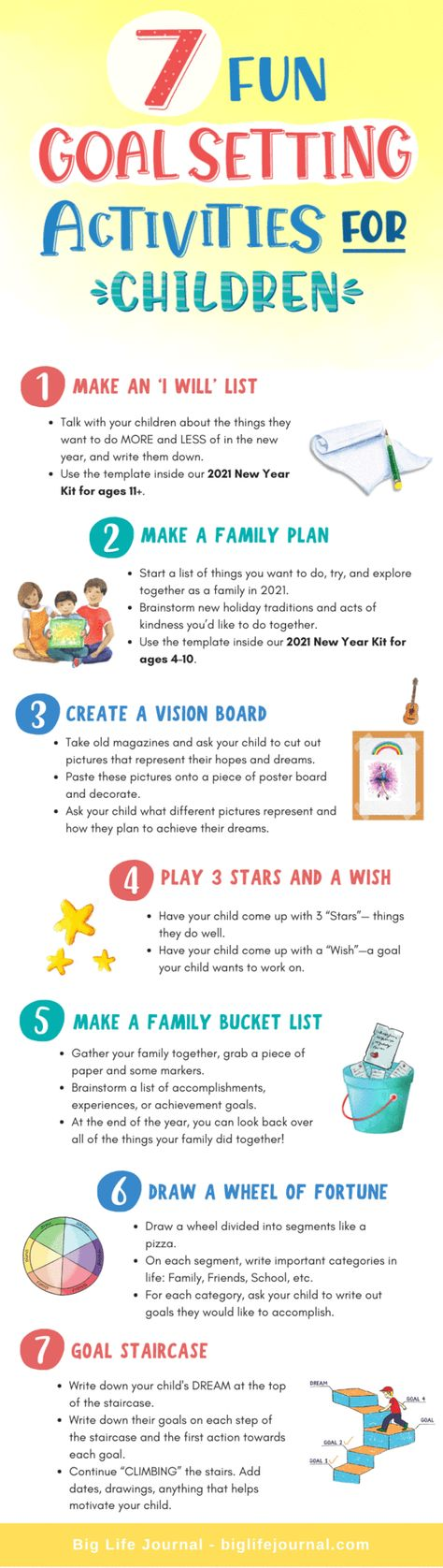 7 Fun Goal Setting Activities for Children