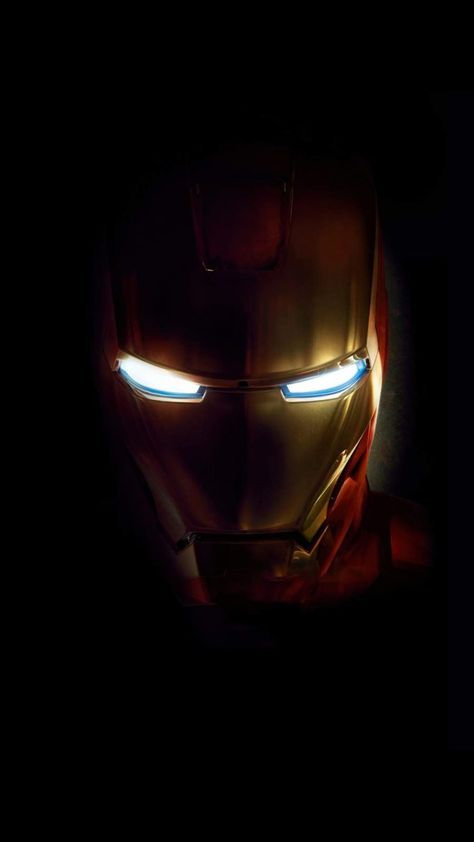 Iron Man Dark Minimal - IPhone Wallpapers