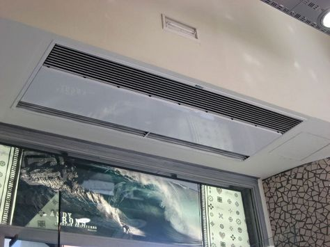 Commercial Entrances Recessed Air Curtains Door Chains Entrance