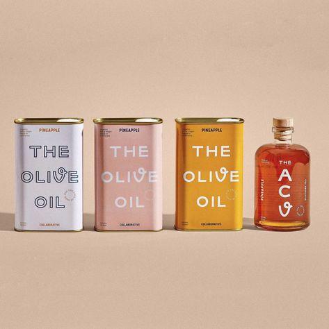 Olive Oil Packaging, Food Packaging Design, Pretty Packaging, Beauty Packaging, Cosmetic Packaging, Packaging Design Inspiration, Brand Packaging, Spices Packaging, Brand Inspiration