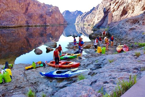 Kayaking The Black Canyon Of Colorado River Hoover Dam