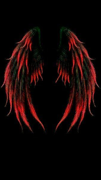 Pin By Laura Castaneda On Kartinki Wings Wallpaper Wings Drawing Dark Wallpaper