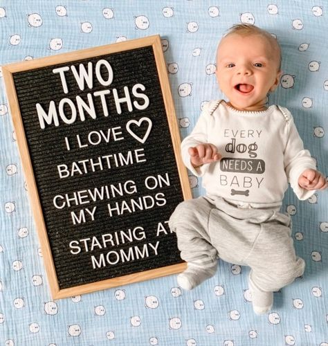 Use the letterboard for shoots/image from overhead/pattern background Two Month Old Baby, 3 Month Old Baby Pictures, Milestone Pictures, Monthly Baby Photos, Monthly Pictures, Baby Month By Month, Newborn Baby Boy Pictures, Newborn Baby Quotes, Funny Baby Quotes
