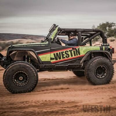 Westin Textured Black Rock Slider Steps Fits 2007 2018 Jeep Wrangler Jk 2 Door Ebay Jeep Wrangler Jk Jeep Wrangler Jeep