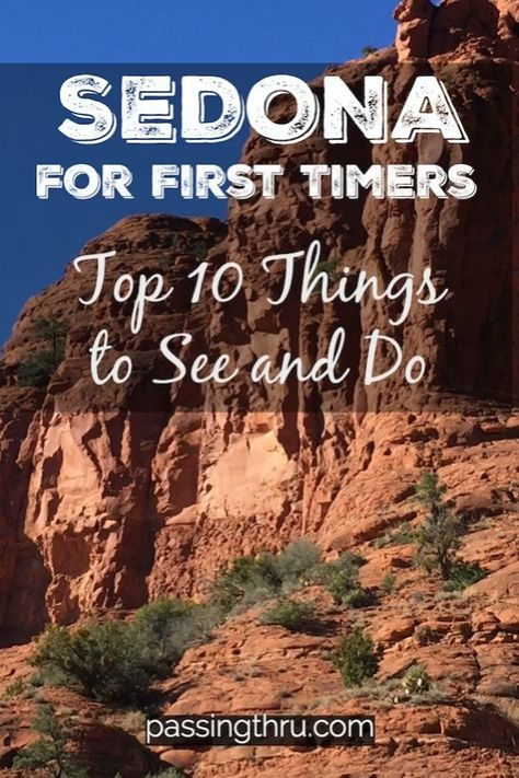#Sedona is an #Arizona #USA must-see destination. Check out our First Timers Guide for ideas on things to see and do! #travel #travelblogger #topten