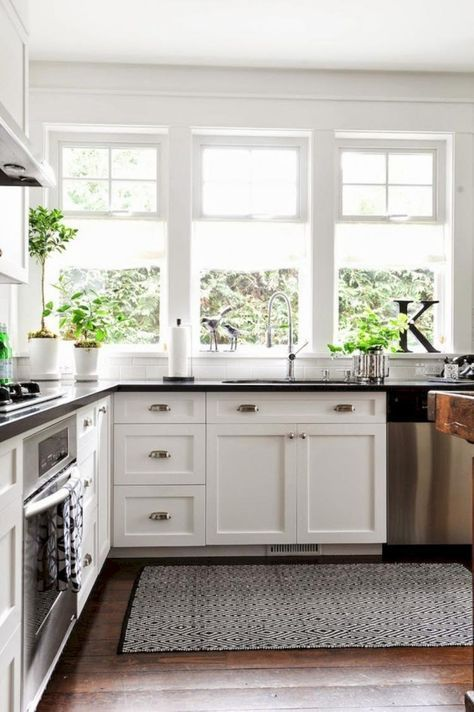 21 Kitchen Cabinet Refacing Ideas Options To Refinish Cabinets Diy Design Doors Ceilings Shaker New Kitchen Cabinets Kitchen Remodel Modern Kitchen Rugs