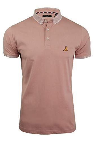 1544e0bb8712 price £6.26 Brave Soul Mens Polo Shirt by Glover' Short Sleeved ...