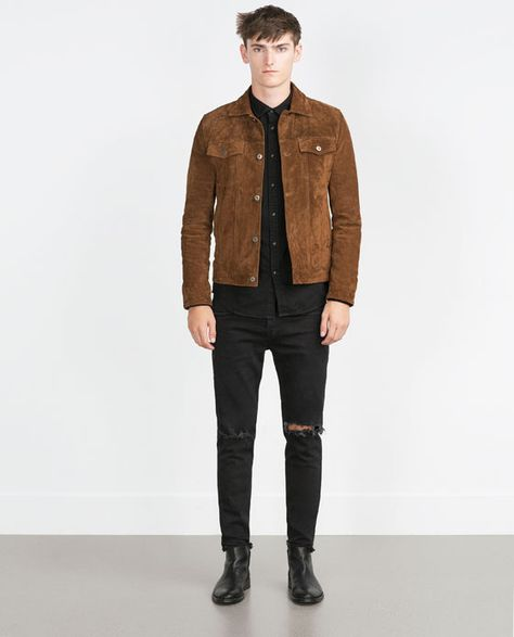 Ideas Brown Boats Outfit Men Casual Jackets For 2019