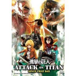 Attack On Titan Since That Day Dvd Movie With Images Dvd