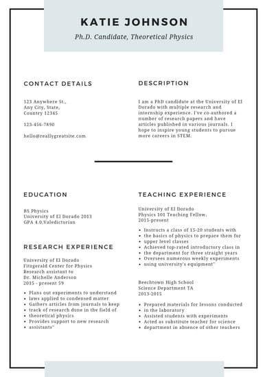 White Minimal Scholarship Resume Templates By Canva Resume Templates Simple Resume Template Infographic Resume
