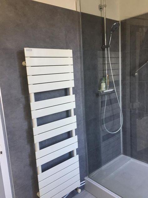 Grey Tile effet salle de bains panneaux Graphite Tile habillage WC Douche Humide Mur PVC