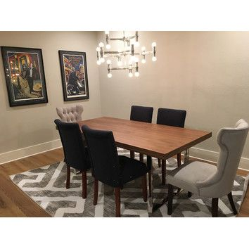 Joybird Hesse Dining Table With Glass Top 5