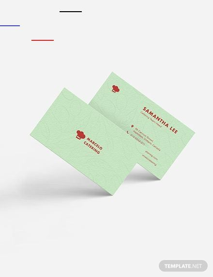 Catering Service Business Card Template Cateringservices Instantly Download Catering Service B Catering Services Food Business Card Business Card Template