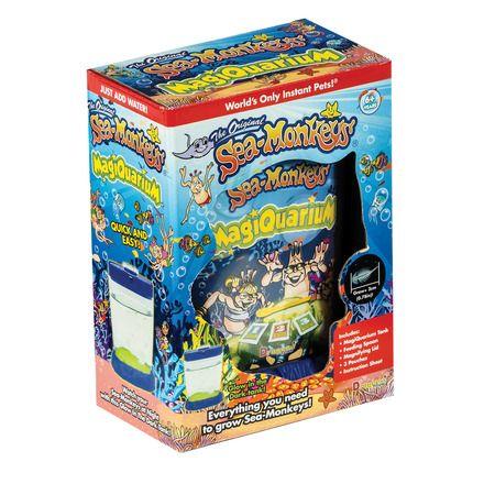 Sea Monkeys Magiquarium Sea Monkeys Glow In The Dark Kids Toy