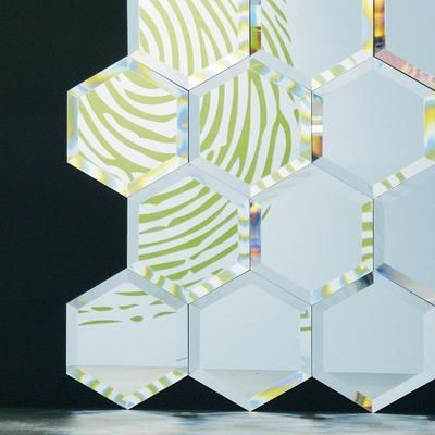 Seletti Mirrored Glass Tiles Mirror Image 5 With Images Mirror Tiles Tiles Glass Mirror