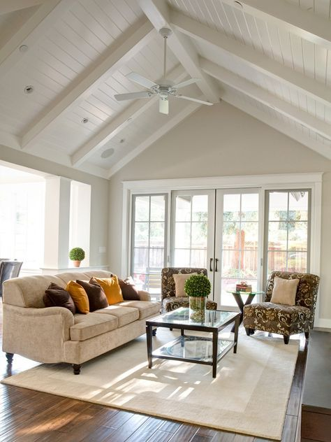 5 Best Ceiling Fans For High Ceilings You Can Buy Today Advanced Ceiling Systems High Ceiling Living Room Cathedral Ceiling Living Room Vaulted Ceiling Living Room