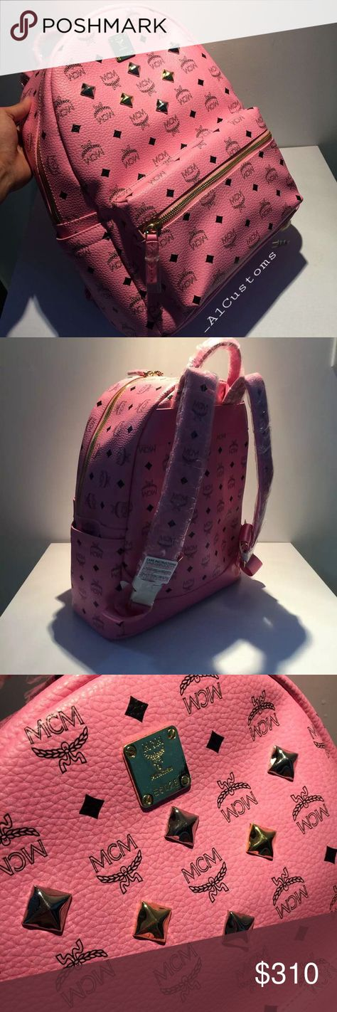 MCM Backpack Price reflects ...... Comes with Dust Bag  Payment process is Venmo ...... - No Trades - Price is Firm  - Don't comment if you ain't buying !  - NOT REAL MCM Bags Backpacks