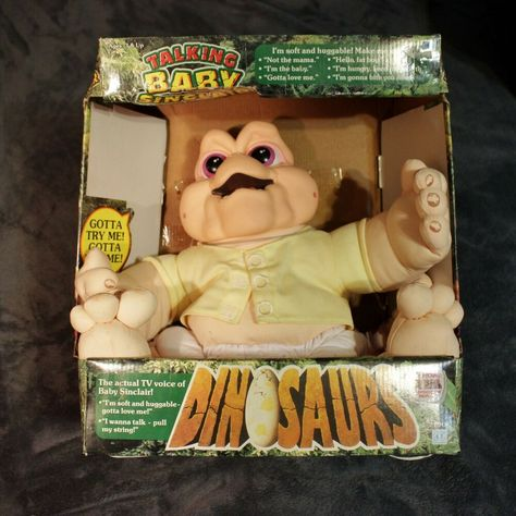 Dinosaurs Talking Baby Sinclair Plush Doll Collectible In