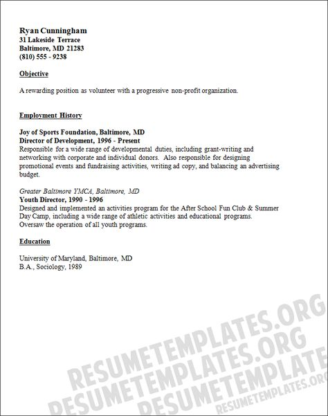 Public Relations Specialist Resume Sample Resume Template   Public  Relations Resumes  Public Relations Resume Template
