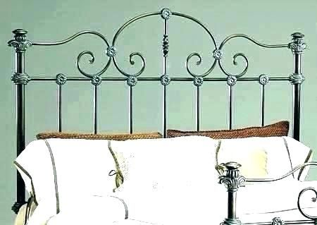 Why Choose Antique Metal Headboards Queen Wrought Iron