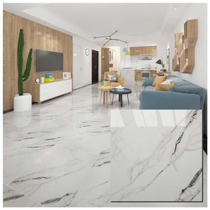 White Polished Ceramic Floor Tiles Size 600 X 600mm Model Hs608gn Hanse Tiles Products Living Room Tiles Marble Flooring Design Tile Floor Latest room wall ceramic size