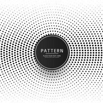 2019 的 Modern Halftone Pattern Background, Abstract