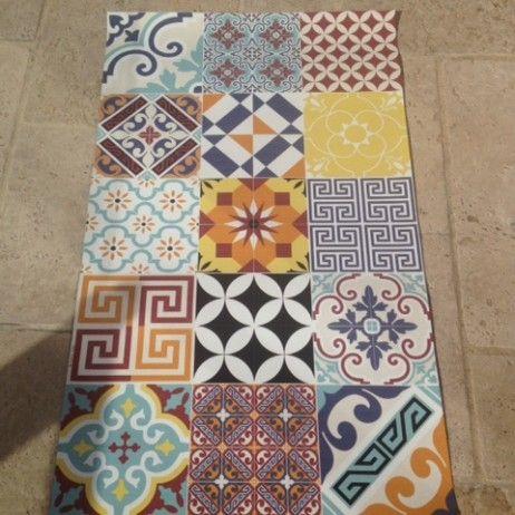tapis carreaux de ciment : le top 5 (sélection shopping) | tapis