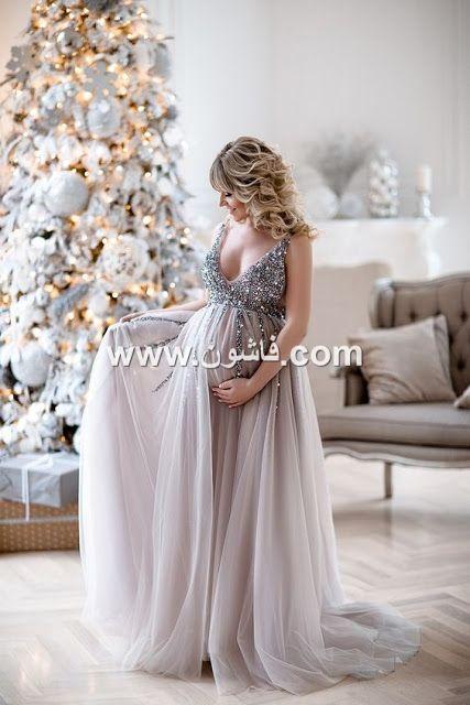 فساتين سواريه للحوامل روعة Pregnant Wedding Dress Baby Shower Dresses Pregnant Bride