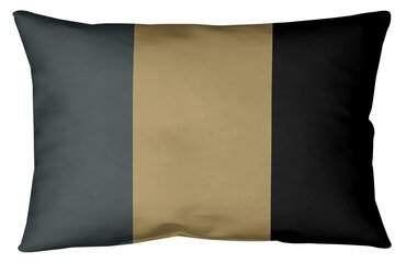 Las Vegas Hockey Indoor Outdoor Striped Lumbar Pillow East Urban Home Color Steel Gray Black Red Sponsored Af Outdoor Pillows Black And Red House Colors