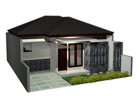 Desain Rumah Minimalis Sederhana 1 Lantai 2 Kamar Tidur Rumah Minimalis Desain Rumah Rumah