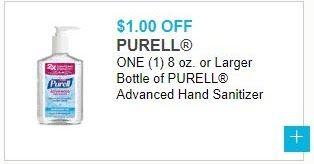 Purell 9652 Advanced Instant Hand Sanitizer 8 Ounce Pump Bottle