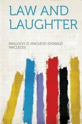 Pdf Download Law And Laughter Free By Malloch D Macleod Donald