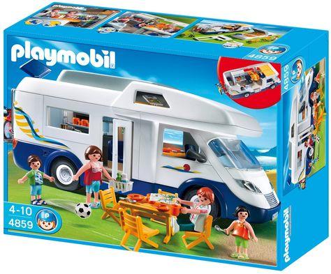 PLAYMOBIL 4859   Familien Wohnmobil: Amazon.de: Spielzeug   Playmobil Sets    Pinterest   Wohnmobil, Spielzeug Und Familien