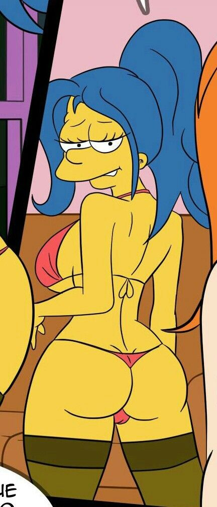 Marge simpson porn strip