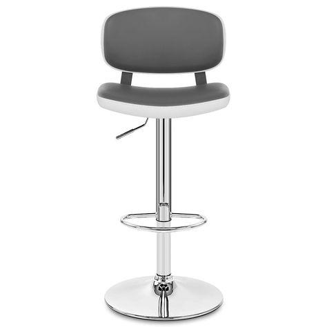 Edge Bar Stool White Grey Kitchen Bar Stools Stool Bar Chairs
