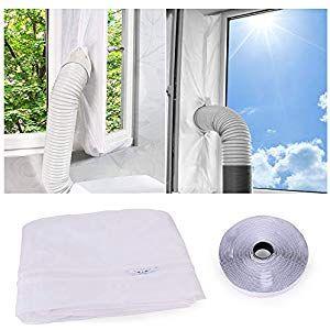 Universal 4m Hot Air Stop Klimagerät mobile Klimaanlage Fensterabdichtung Klima