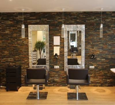 Realisations Salon De Coiffure Art Des Sens Dole 39 Dole Inovea Deco Salon Decor Beauty Salon Decor Salon Interior Design