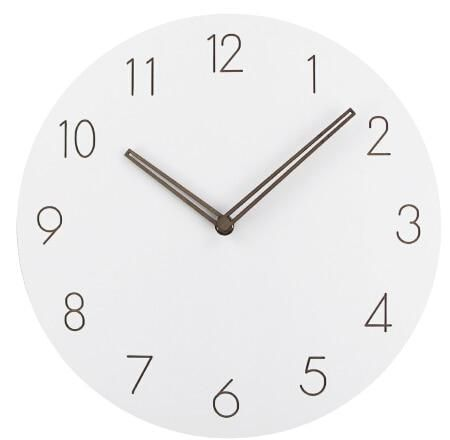 Modern Simple Multi Color Wall Clocks Wooden Clock Wall Clock Clock