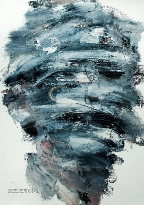 Abstract Portraits Paintings by Jaeyeol Han