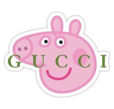 Peppa Parody Sticker Peppa Pig Stickers Peppa Pig Wallpaper Pig Wallpaper