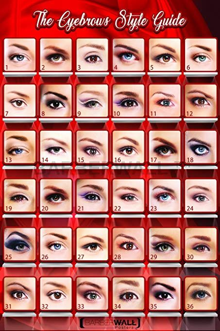 Eyebrows Poster By Barberwall Eyebrows Threading Poster This Is A Beautiful Poster Of Eyebrows Shape Can Also B Beauty Salon Posters Beauty Salon Eyebrows