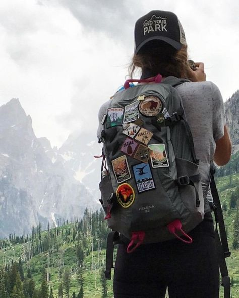 on The first patches I put on my pack were the Girl Scout-esque diamonds in the middle: contentment, honesty, daring, and integrity. Types Of Photography, Girl Photography, Travel Photography, Photography Hashtags, Adventure Photography, Photography Triangle, Photography Jobs, People Photography, Street Photography