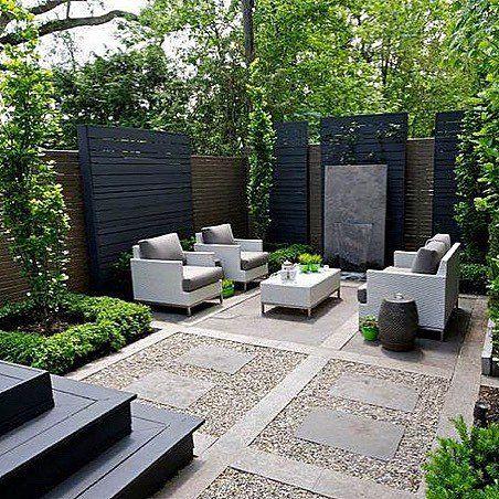 9 News About Mississauga On Twitter Modern Backyard Landscaping Backyard Seating Area Modern Backyard