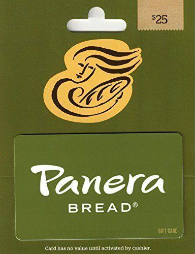 Amazon Com Panera Bread Gift Card 25 Gift Cards Giftryapp