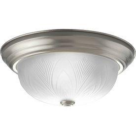 Brushed Nickel Thomas Lighting SL845578 Flushmount Ceiling Fixture