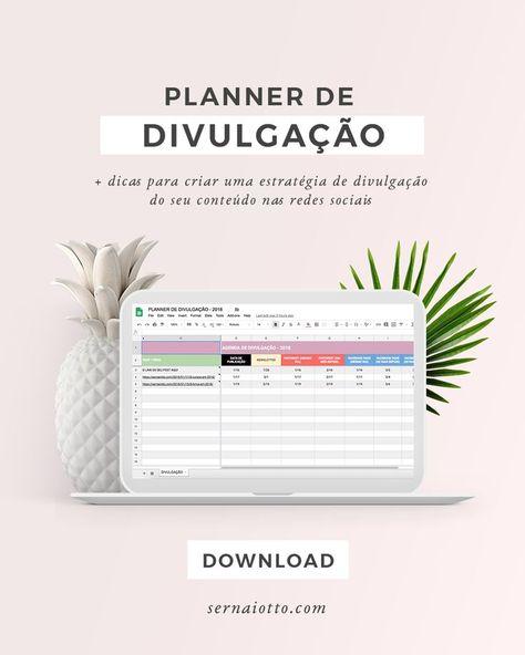 Planner de divulgação de conteúdo » sernaiotto