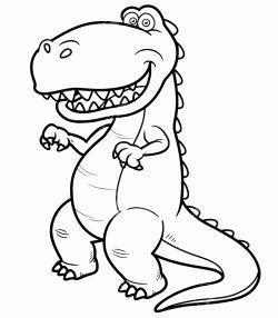 Dinazor Boyama Sayfası Dinosaur Coloring Pages Página Para