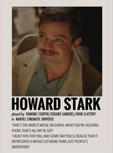 Howard stark by Millie