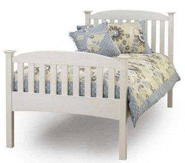 Colour White External Bed Frame Measurements 104x204cm Internal